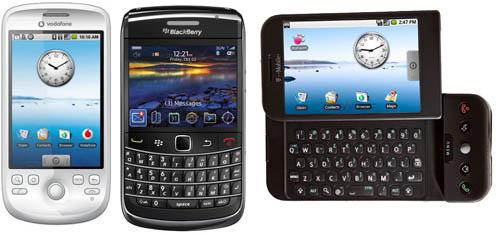 Three-cell-phones