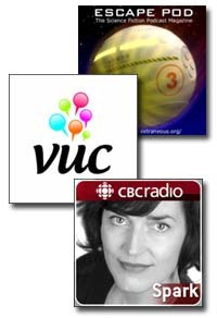 three-podcasts
