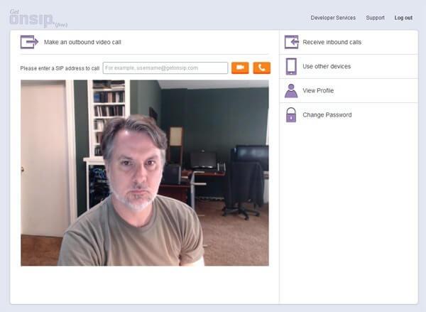 GetOnSIP-Screenshot