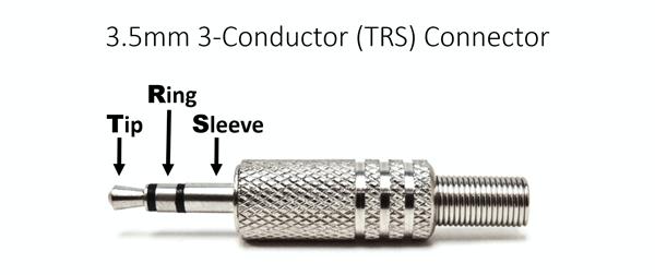 3,5 mm 3 conducteurs-TRS