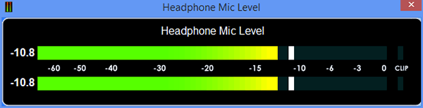 Wide Range Audio Meters