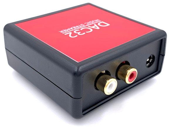 DAC32 streamer front