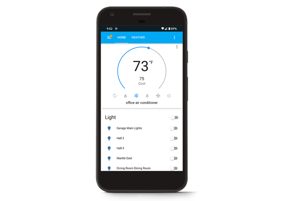 Home Assistant on Pixel