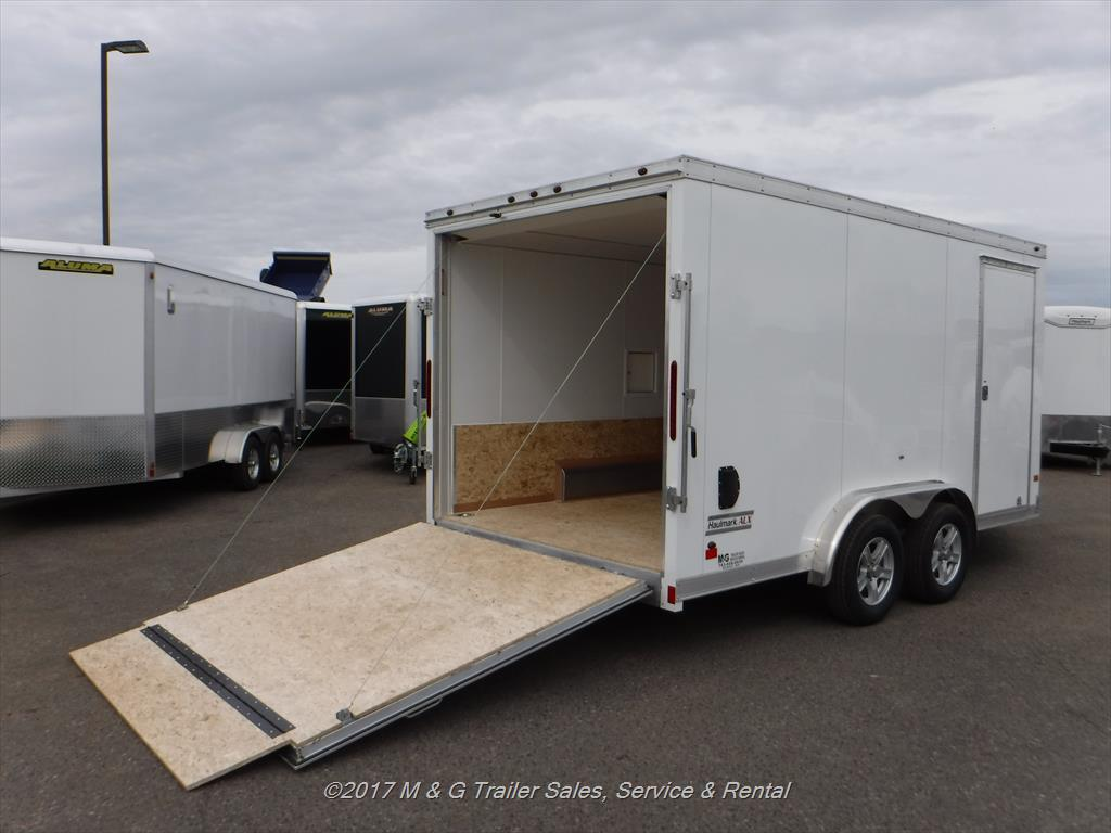 Enclosed Cargo Utility Trailer Along With 13 Pin Trailer Plug Wiring
