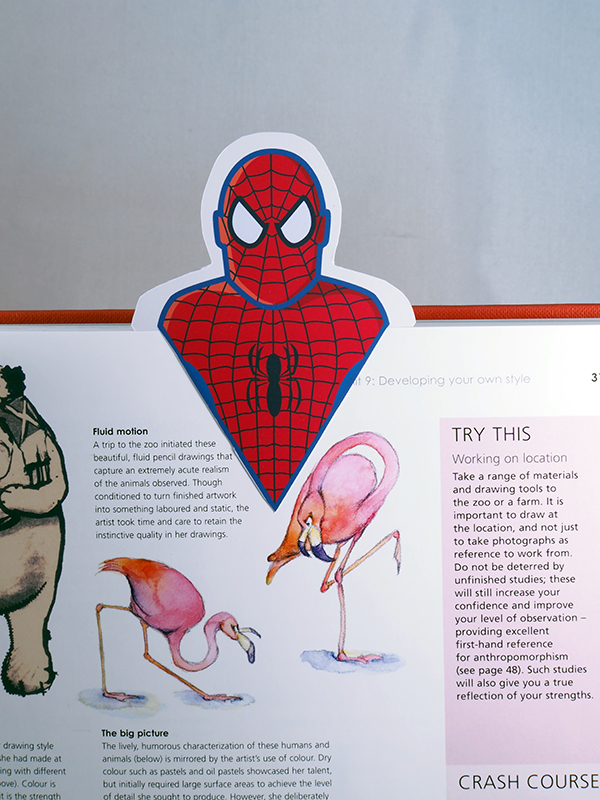 DIY Superhero Bookmarks M Gulin