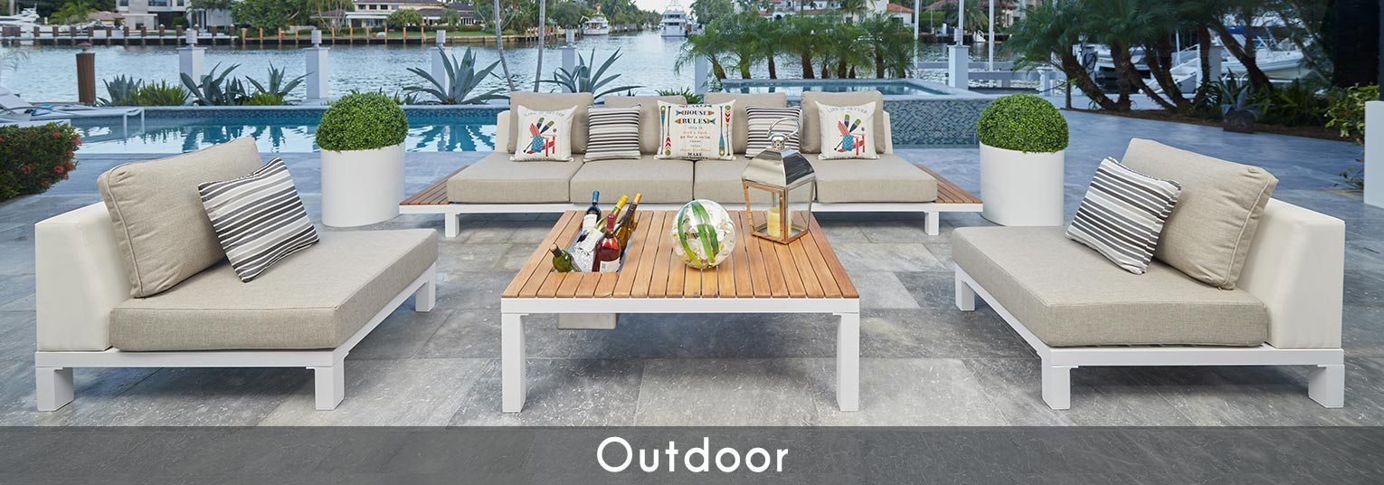 modern outdoor patio furniture sets