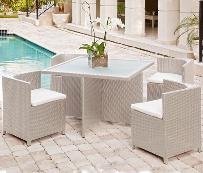 Mh2g Outdoor Furniture Menfi Outdoor Dining Set