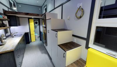 Modern Tiny Home 3D Model
