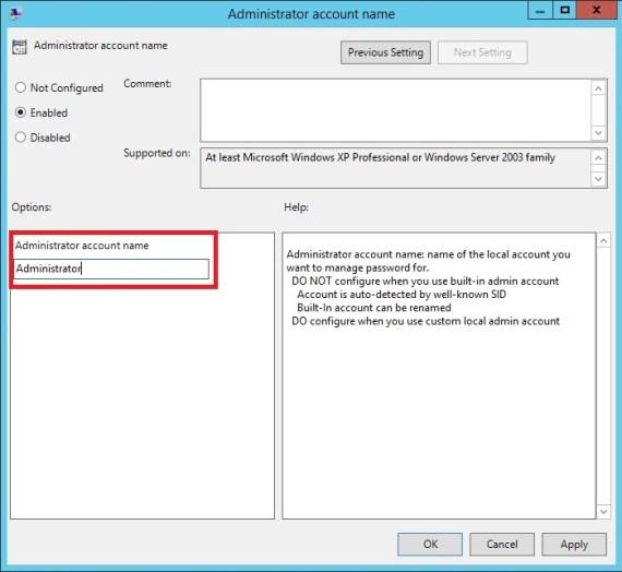 Local Admin Parolalarının Group Policy ve Active Directory İle Merkezi Olarak Yönetimi_19