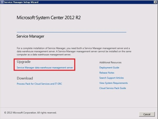 Upgrade Service Manager 2012 Sp1 to 2012 R2_39