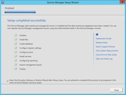 Service Manager 2012 R2 DataWarehose Kurulum ve Ayarlar_15