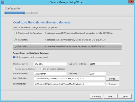 Service Manager 2012 R2 DataWarehose Kurulum ve Ayarlar_4_1