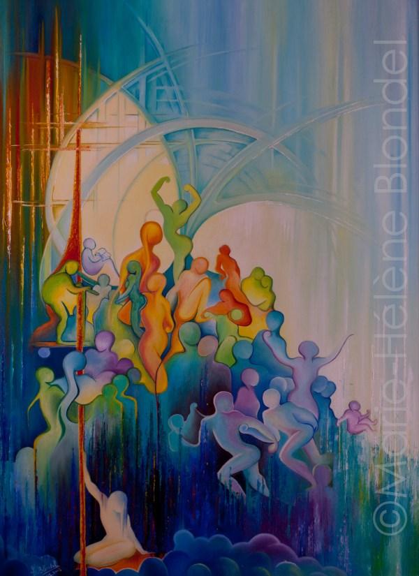 Solitude 2 – 2003 – Huile sur toile – 80 X 60 – 480€