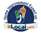 eLocal Home Improvement Badge