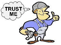 "Don't just say, ""Trust Me."" Earn Trust."