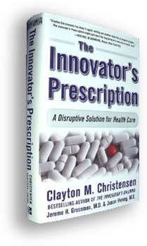 book cover of The Innovator's Prescription