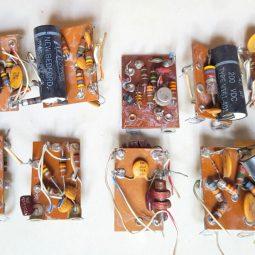 Drake TR4 Transceiver Internal boards lot for parts