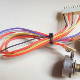 Yaesu YO-901 Multiscope Original Control Buttons with connector