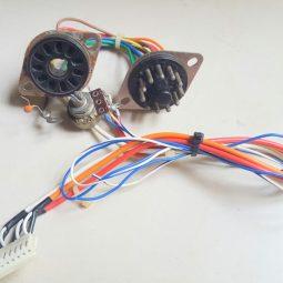 Yaesu YO-901 Multiscope Original Back Connectors