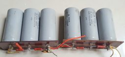 Yaesu FL-2100 Original Capacitors with boards