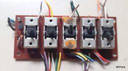 YAESU FT-107M Buttons