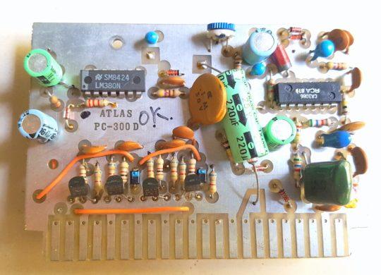 Atlas 215X SSB Transceiver LOT#15 Board PC-300D
