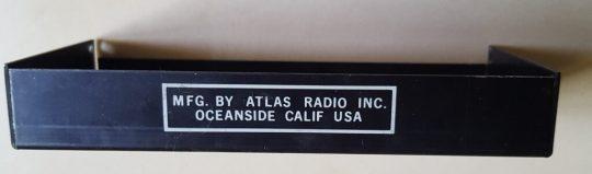 Atlas 215X SSB Transceiver LOT#18 Final Protector Case