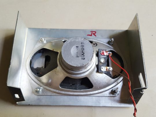 Atlas 220 CS Power Supply LOT#12 Original pristine Speaker with front face