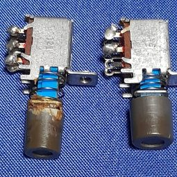 Kenwood TS-830S Original Front Push Buttons (2) Units