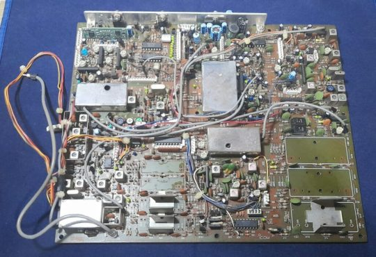 Icom IC-760 Pro , IC-765 Original Filter Board Used Without Filters Working