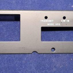 Icom IC-720A Original Display Steel Protector Used