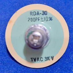 Yaesu FL-2100 Doorknob RDA-30 200 PF 3 KV Used