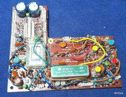 Kenwood TS-120 S Original Filter Board 2790-12 Include Filter Used working