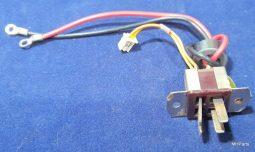 Yaesu FT-757GX Original Back AC Connector Used #2