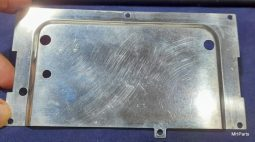 Kenwood TS-50S Original Internal Separation Board Case Used