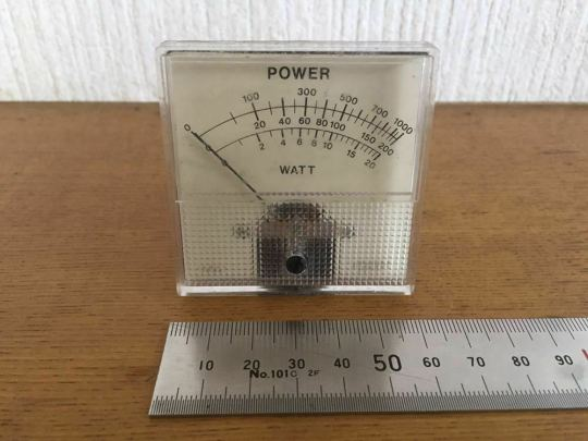 POWER / SWR Meters Parts Unknow Brand Untested 2