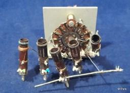 Reliant (Eldico) Receiver R-104 Original Coil Switch Used