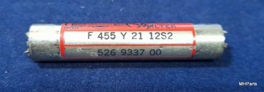 Reliant (Eldico) Receiver R-104 Original Collins Filter F455 Y 21 12S2 Used