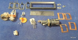 Cubic Astro 151 Original Mix Lot Of Parts As Is Used