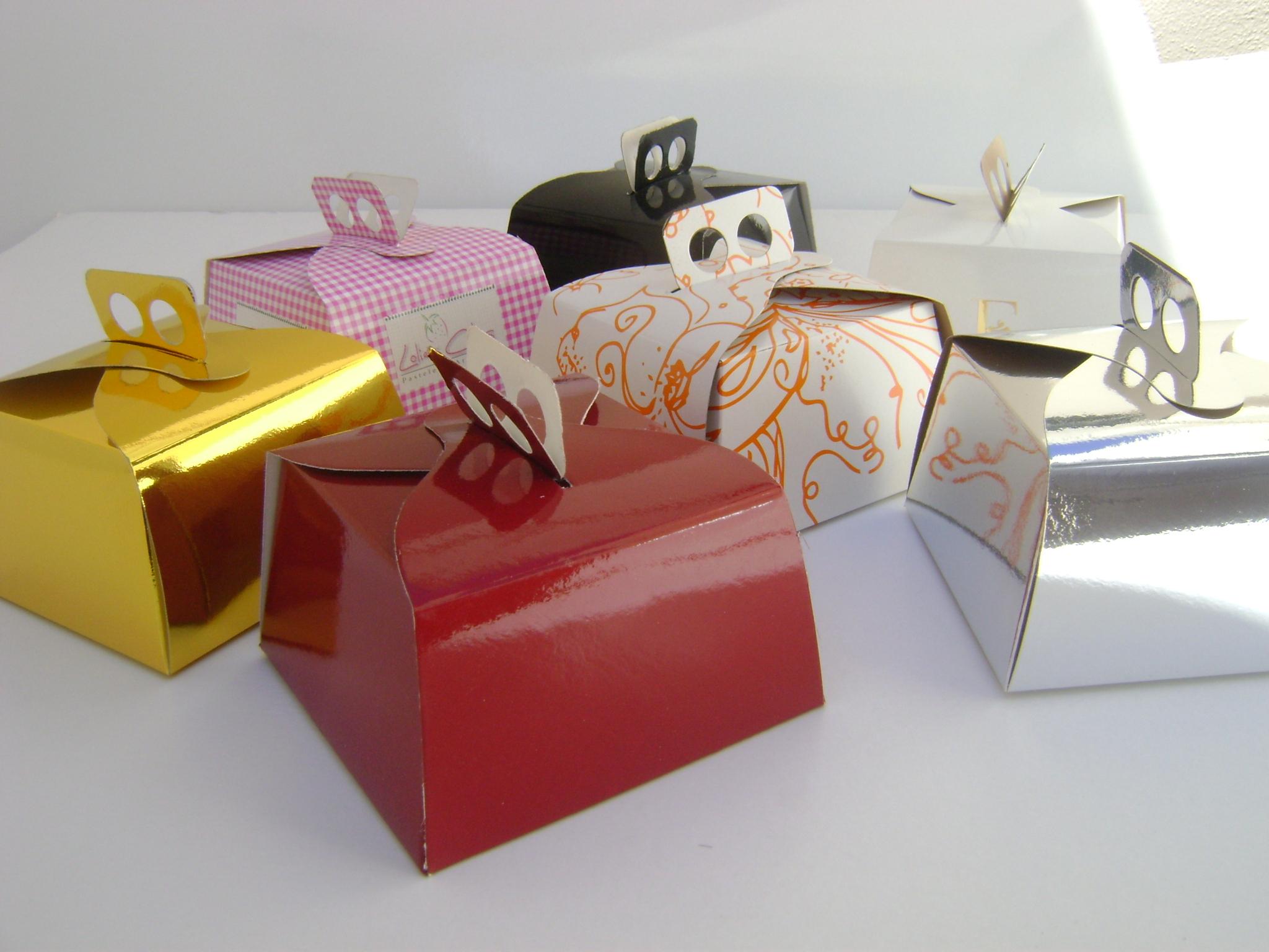 Cajas para Mini Tortas