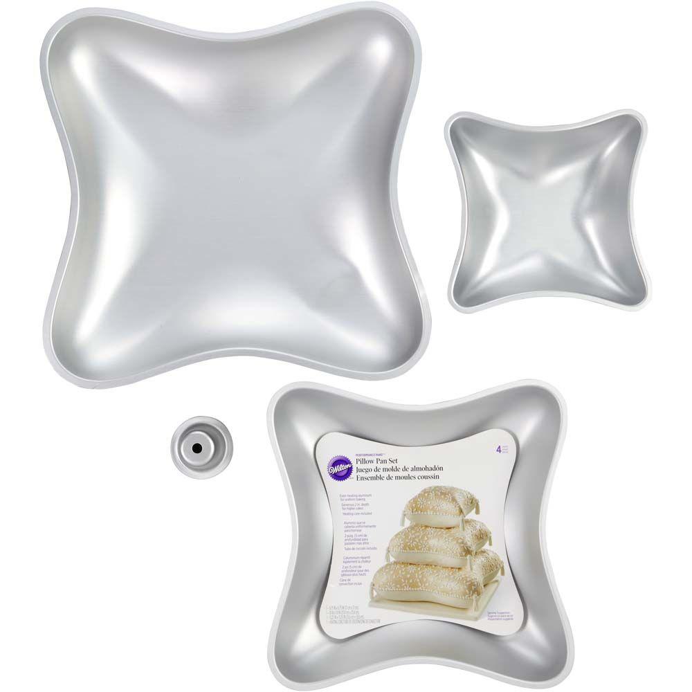 performance pans pillow cake pan set 4 pcs