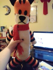 Hobbes made by Gracie. Cuute!