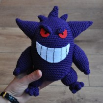 Gengar made by Jessica. It looks great!