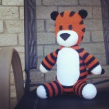 Hobbes made by frimptes. So cute!!