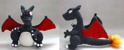 Charizard made by Melyntenshi.