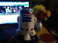R2D2 made by Nancy.