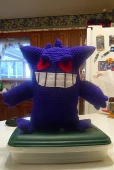Gengar made by Samantha.