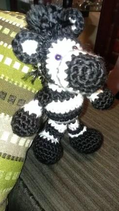 Zebra made by Shana.