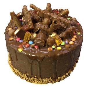 Τουρτα σοκολάτα crunch