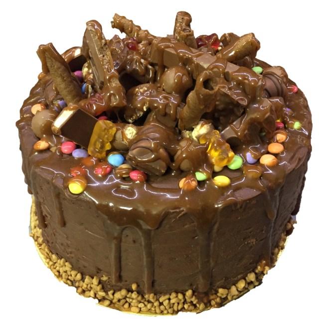 Τουρτα σοκολάτα chrunch